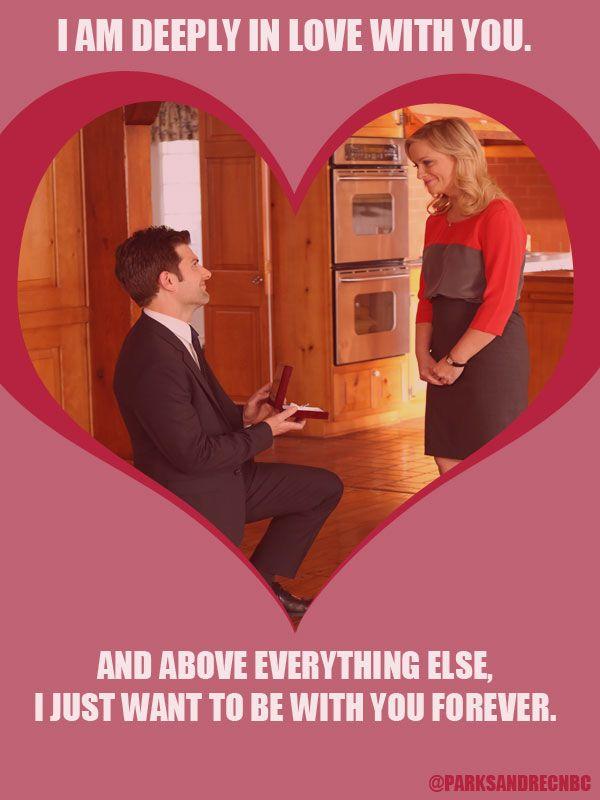 Ben and Leslie / Valentine's Day / #ParksandRec