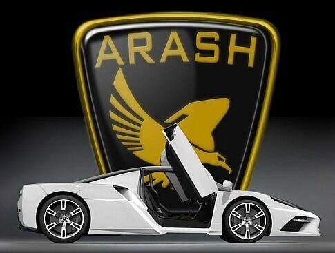 WEB LUXO - Autos de Luxo: Arash AF-10 - Nasce um novo superesportivo