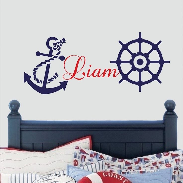 Nautical Wall Decal. Nursery Wall DecalsKid BedroomsBoy ... Part 81