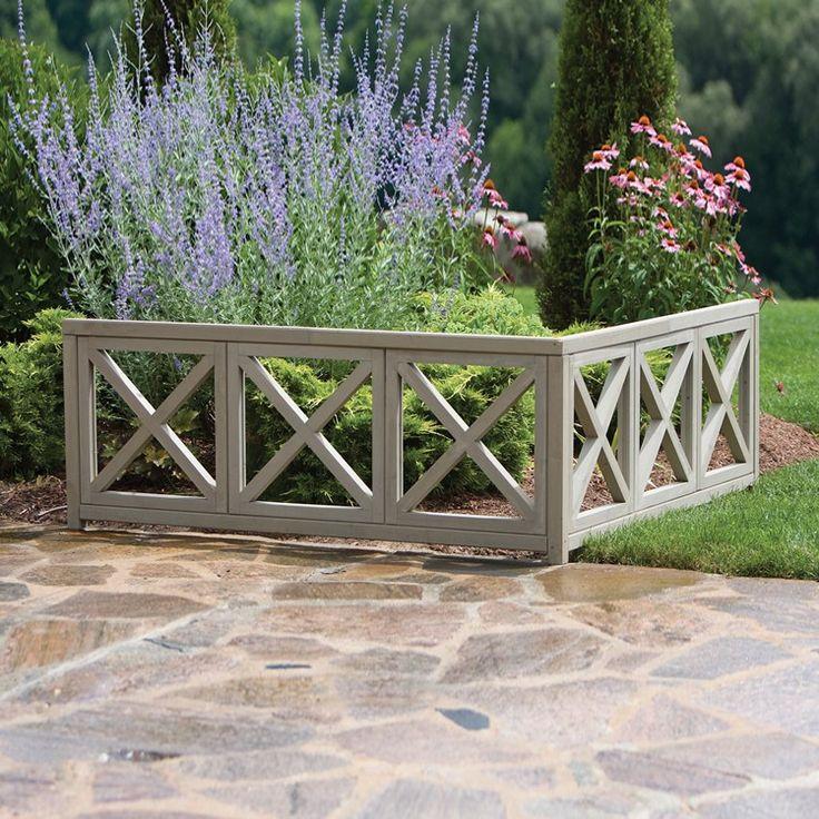 117 best fences images on pinterest | garden fences, garden ideas ... - Patio Fencing Ideas