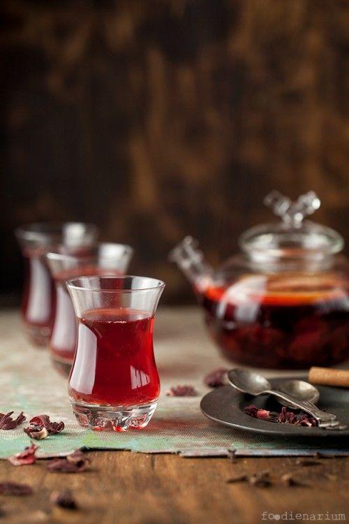 Red Hibiscus Punch   Foodienarium
