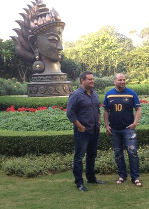 MasterChef Australia judges, Gary Mehigan and George Calombaris, on their first visit to India explored the cities of Mumbai and Delhi.
