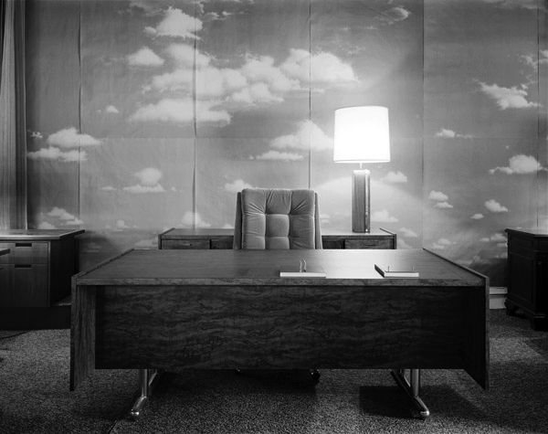 """polychroniadis: """" • Lynne Cohen, Corporate Office, 1976. """""""