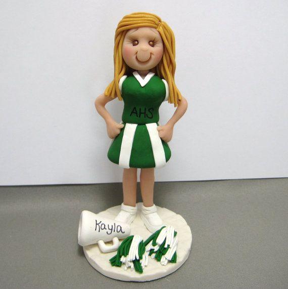 Cheerleader Cake Topper Uk
