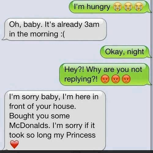 cute text messages couples - Google Search