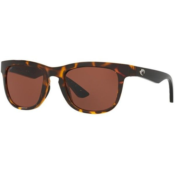 Costa Del Mar Copra 52 Black Oval Sunglasses ($149) ❤ liked on Polyvore featuring accessories, eyewear, sunglasses, black, oval glasses, oval sunglasses, costa eyewear, costa sunglasses and lens glasses