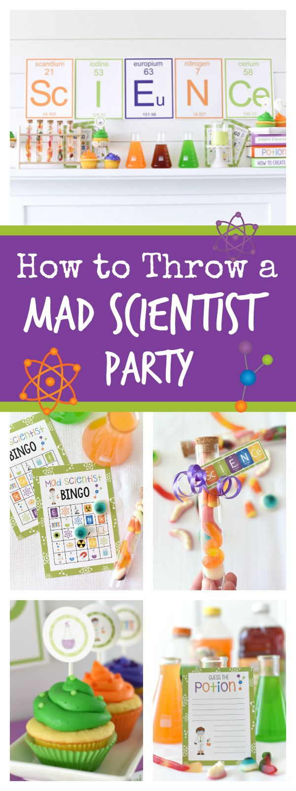 How to Throw a Fun Mad Scientist Party