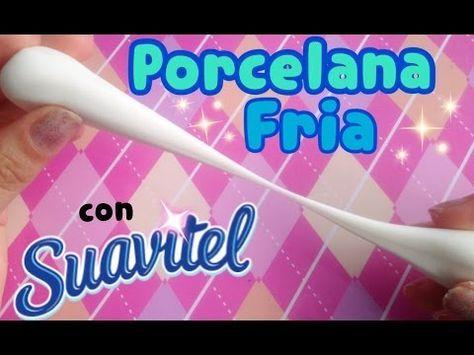 ❤PORCELANA FRIA: Receta PERFECTA! No se agrieta, flexible y suave! ★El Arte de Pau★Tutoriales★ - YouTube