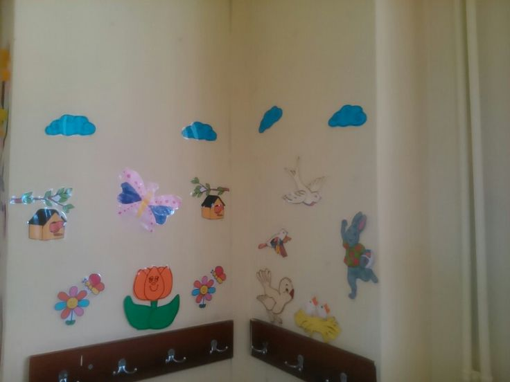 Lovely spring classroom decoration