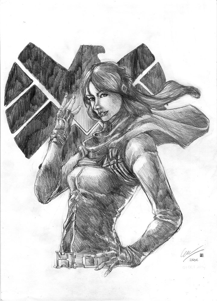 Agent of SHIELD Skye by cric.deviantart.com on @deviantART