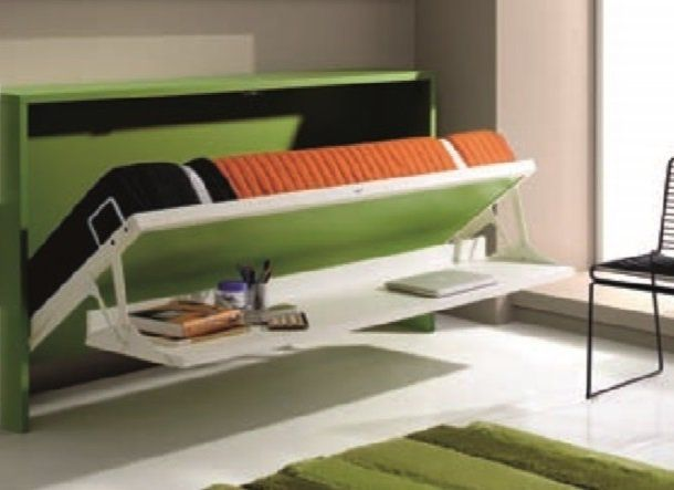 Les 25 meilleures id es concernant armoire lit escamotable for Lit bureau escamotable
