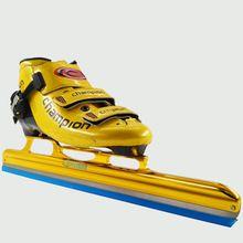 Adultos Patines patines de hockey sobre hielo de Arranque Largo 350mm 380mm 410mm 430mm Patín de hielo de Carbono hoja de Velocidad En Línea patines patins Rodillo zapatos
