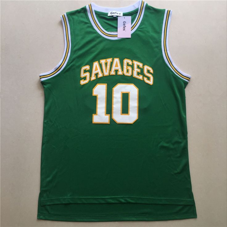 Gefex Mens College  movie Jerseys Dennis Rodman Basketball Jerseys #10 green blue white #Affiliate