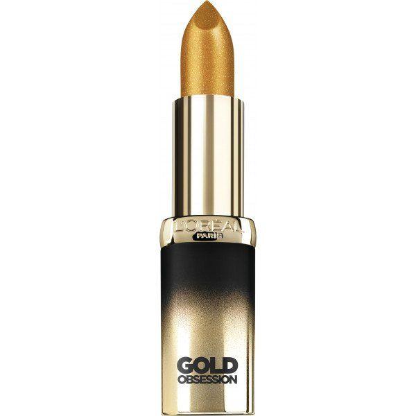 47 Pure Gold Color Riche Gold Obsession Barras de Labios