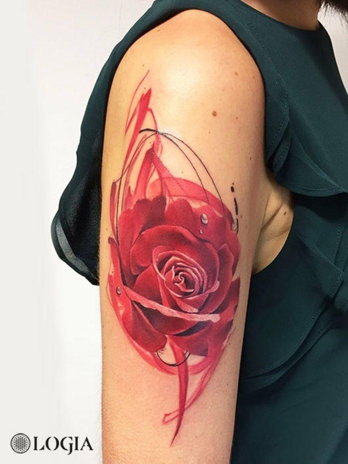 1001 Ideas De Tatuajes De Rosas Super Bonitos Con Fuerte Significado Tatuajes De Rosas Diseno De Tatuaje Rosa Tatuajes