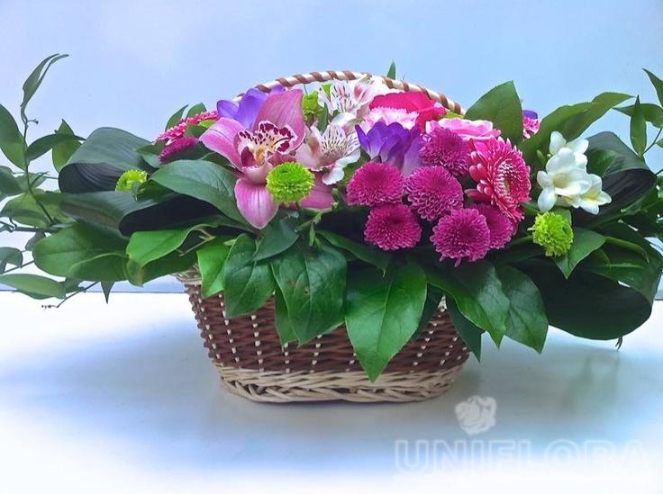 Aranjamente florale - Cosuri cu flori