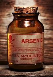 Large traces of Arsenic poison were found in the hair of Daisy de Melkers son's hair after body was exhumed for investigations prior to the arrest of Daisy de Melker.