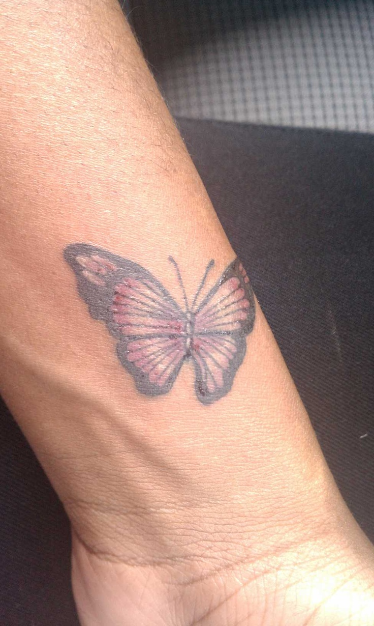 41 best tattoos images on pinterest tattoo ideas for Butterfly tattoo wrist designs