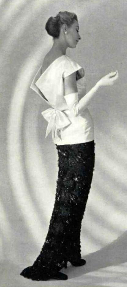 Balenciaga - Vintage - Robe 'Noeud'
