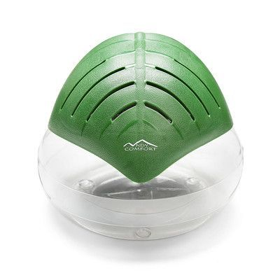 New Comfort Water Based Air Purifier Cool Mist Humidifier Color: Green
