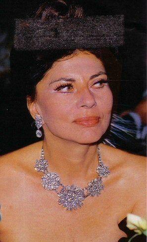 Soraya in later years