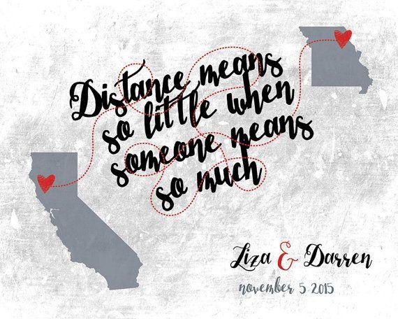 Mappa relazioni distanza  San Valentino amici lontani di luzdesign