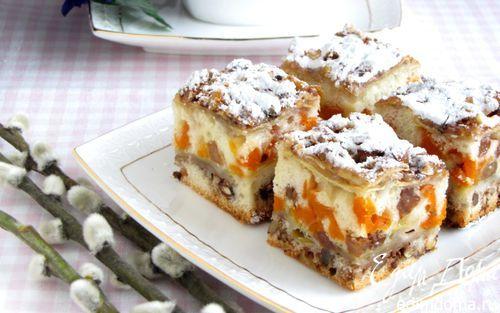 Яблочно-ореховый пирог | Кулинарные рецепты от «Едим дома!»