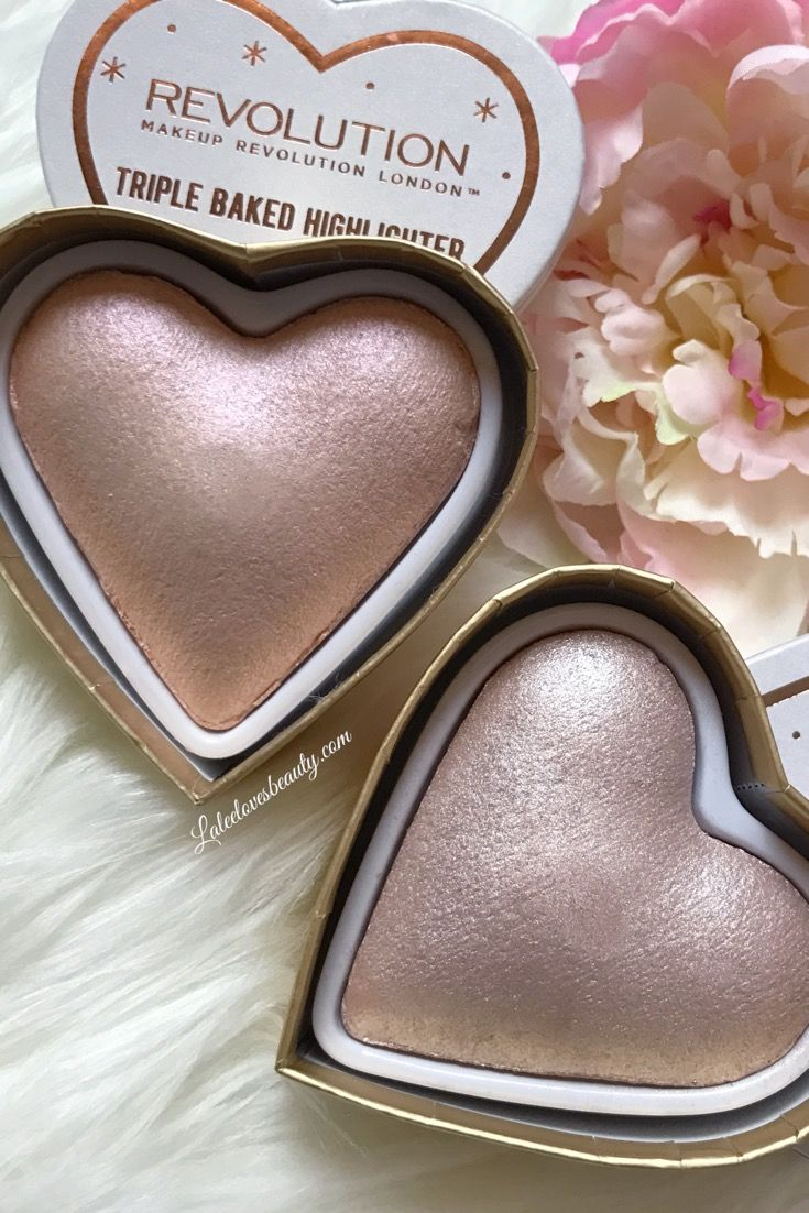 Makeup Revolution Triple Baked Collection Highlighters