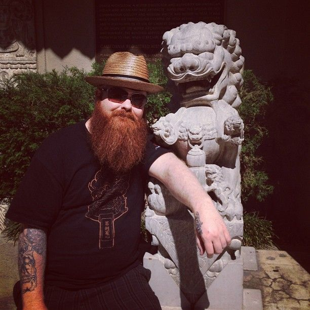 Our artist spotlight is on Jason Clay Dunn of Tattoo Alchemy, located in Montclair, CA .  Most people know Jason from competing in season 3 of Ink Master.  Jason is known for his unique twist on Asian style of tattooing.  Jason has been traveling doing some tattoo conventions and just got back from New York City for the live episode of Ink Master.