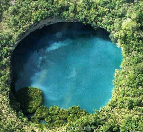 Cenote Natural Pools of Groundwater  Yucatan Mexico  (Want to visit more -- they're such magical places!)