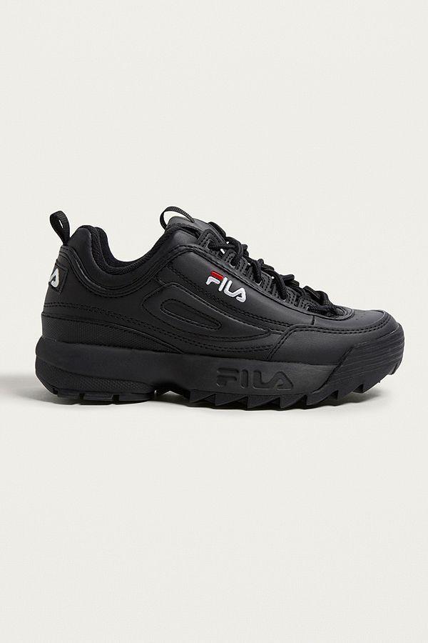 fila boots negro