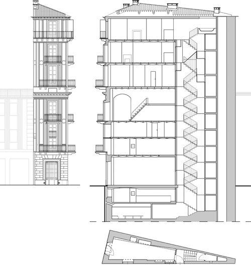 It torino casa scaccabarozzi architect alessandro for Casa design torino