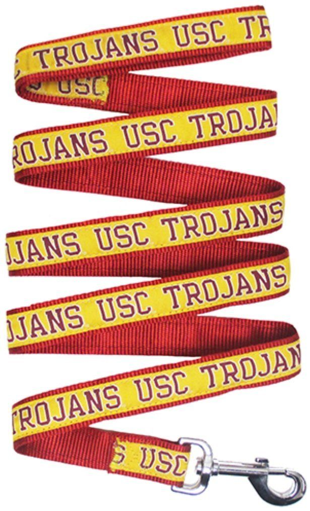 Pets First Collegiate USC Trojans Pet Leash -- Click image to review more details. (This is an affiliate link and I receive a commission for the sales)
