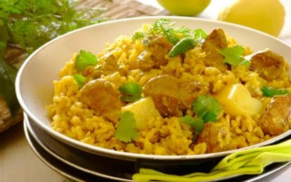 Fragrant Lamb Akni. Akni is a spicy one-pot wonder made with lamb, chicken or mutton, with flavours resembling those of a breyani. #curry #recipes