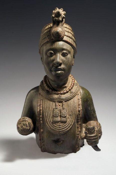 Yoruba kingdom of Ife (Nigeria), Torso of a king, early-mid 16th century | ADAC ~Repinned Via Rien Catherine Kate http://www.imamuseum.org/art/exhibitions/ife/image-gallery