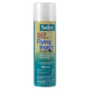 Safer Brand Brand Flying Insect Killer Poison-Free Aerosol-5710 at The Home Depot