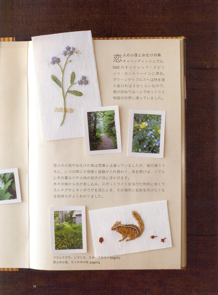 53 best images about kazuko aoki sublime on pinterest for Anne of green gables crafts
