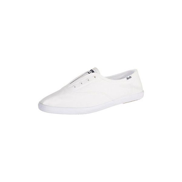 Keds Womens Chillax White Sneakers ($40) ❤ liked on Polyvore featuring shoes, sneakers, white, keds sneakers, white shoes, keds, white sneakers and rubber sole shoes