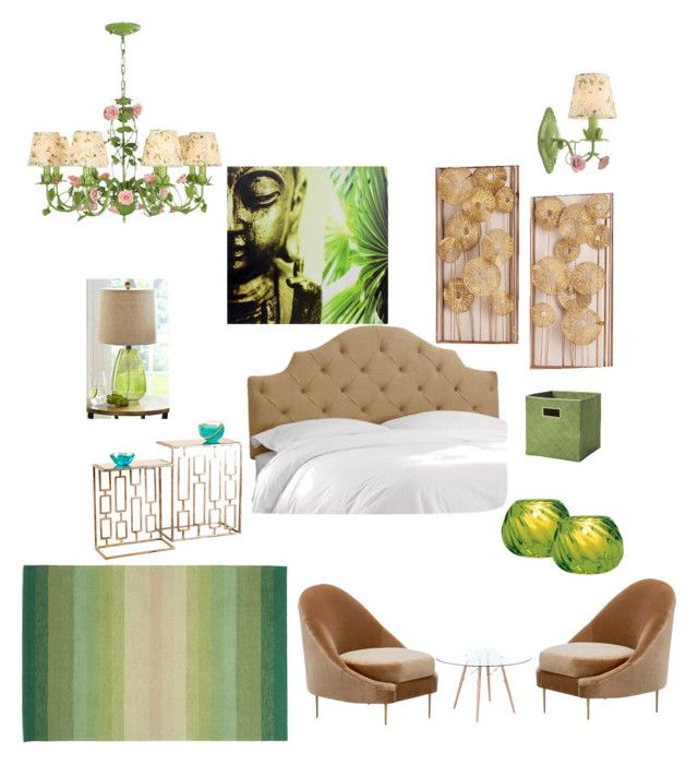 """bedroom"" by shivika-ahuja on Polyvore featuring interior, interiors, interior design, home, home decor, interior decorating, Serena & Lily, Home Decorators Collection, Cultural Intrigue and Pier 1 Imports"