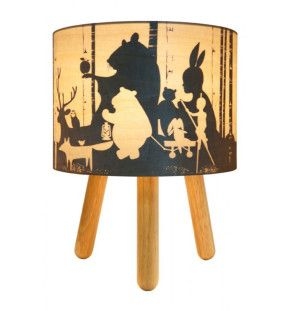 wild imagination timber lamp
