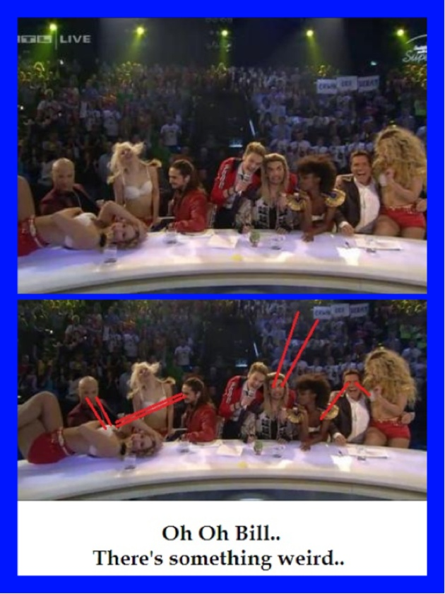 Funny...typical Bill & Tom!!! DSDS 2013