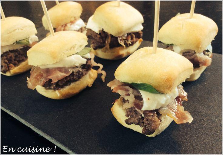 Mini burger italien