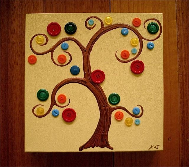 This is inspiring me to make a card using buttons - I haven't used buttons in ages on my cards.