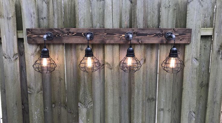 Rustic Bathroom Light Fixtures: Best 25+ Rustic Vanity Lights Ideas On Pinterest