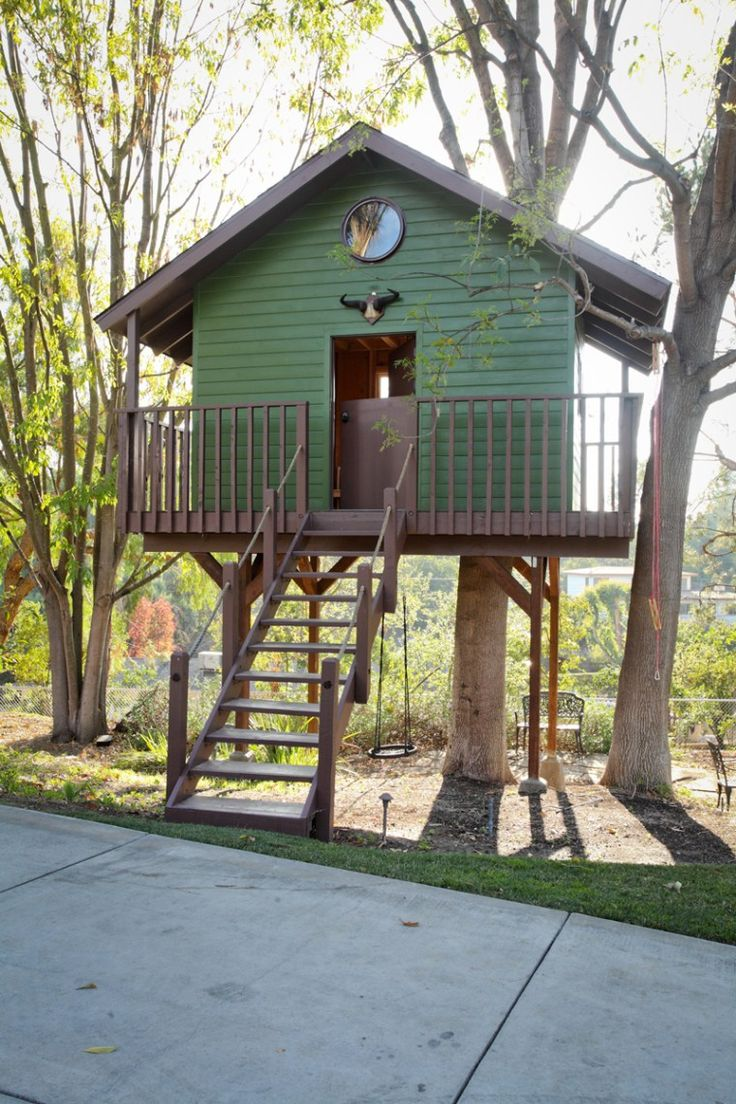 Cool Treehouses For Kids 185 Best Tree House Images On Pinterest Treehouses Architecture