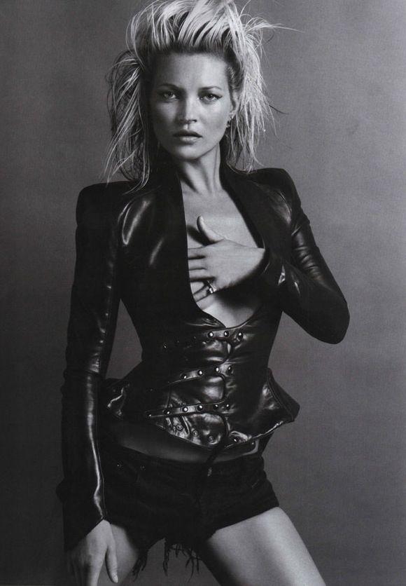 Inez & Vinoodh Shoot Kate Moss for Vogue Paris October 2010