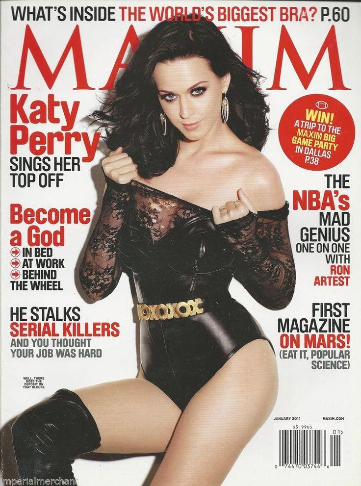 Katy Perry in Maxim magazine