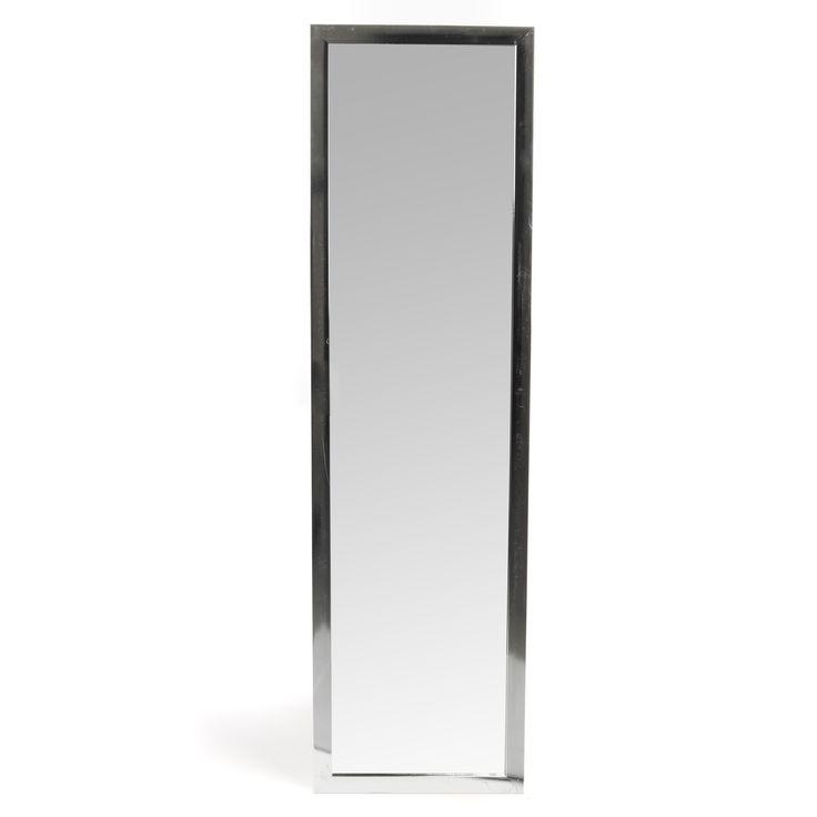 Grand miroir rectangulaire argenté 30x120cm Argent - Chipi - Les psychés et miroirs en pied - Miroirs - Toute la déco - Décoration d'intérieur - Alinéa