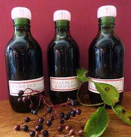 Behalve voor lekkere jam, siroop en vliersnoepjes , kun je met de vlierbessen ook een goede medicinale hoestdrank maken. Neem -2 ...