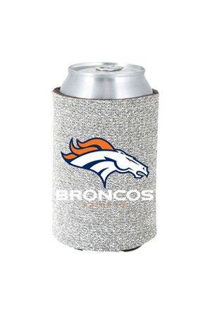 Denver Broncos Glitter Can Koozie